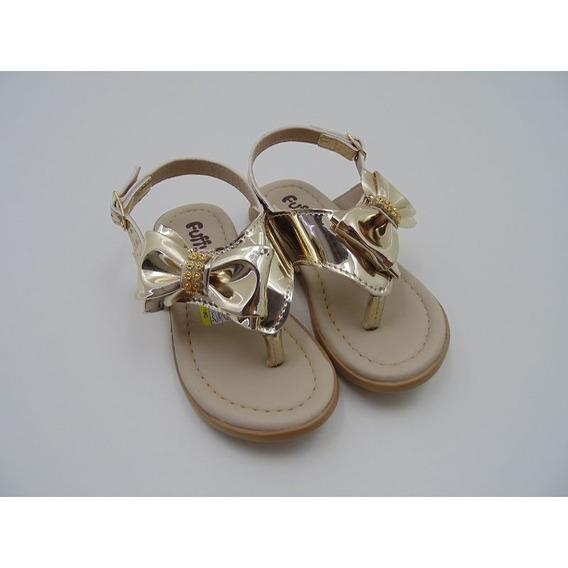 Sandália Fuffy Menina Baby Delicada 4101-119