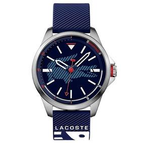 Relógio Lacoste Masculino Borracha Azul - 2010940 La00000692