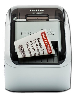 Impresora Etiquetas Codigo Barras Brother Ql 800 + Rollos
