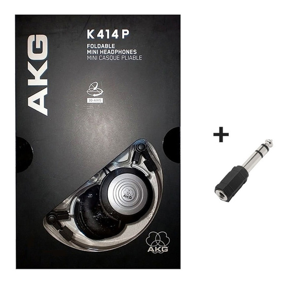 Fone Ouvido Akg K414 Kx K414p + Brinde Loja C/ Nota - Loja