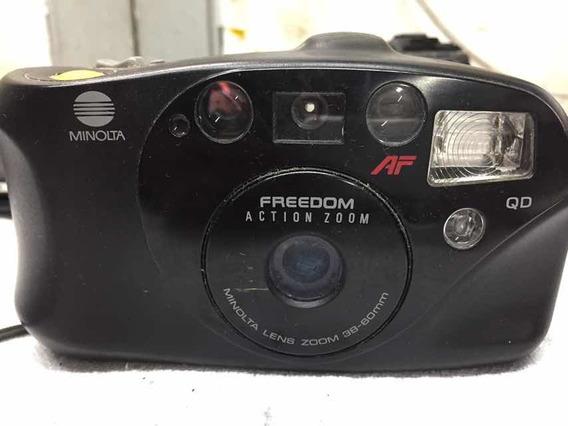 Minolta Freedom Action Zoom No Estado Sem Bateria