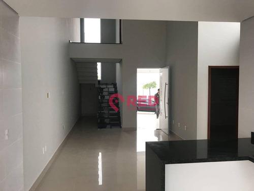 Sobrado Com 3 Dormitórios À Venda, 155 M² Por R$ 590.000,00 - Condomínio Terras De São Francisco - Sorocaba/sp - So0032