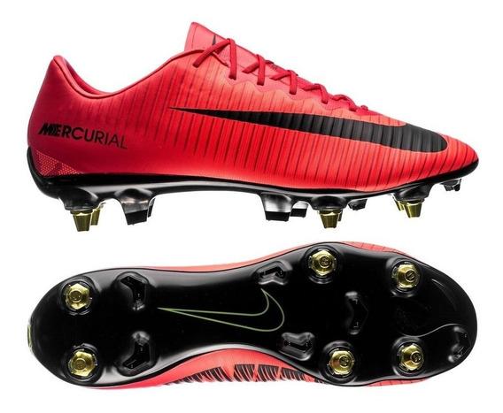 Botines Nike Mercurial Vapor Xl Sg-pro Fg Elite Acc Aluminio