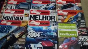 Revistas Quatro Rodas Ano 2004. Mês 1,2,4,5,6,7,8,9