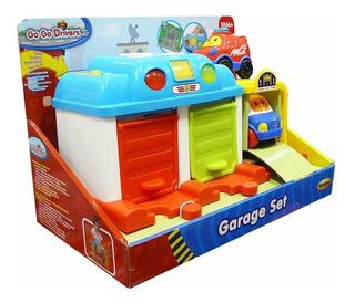 Garage Go Go Interactivo Luces Y Sonidos Autitos Winfun Full