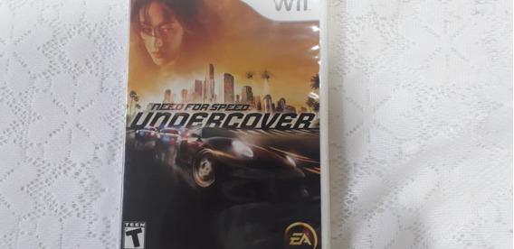 Need For Speed Undercover || Versão De Nintendo Wii Original