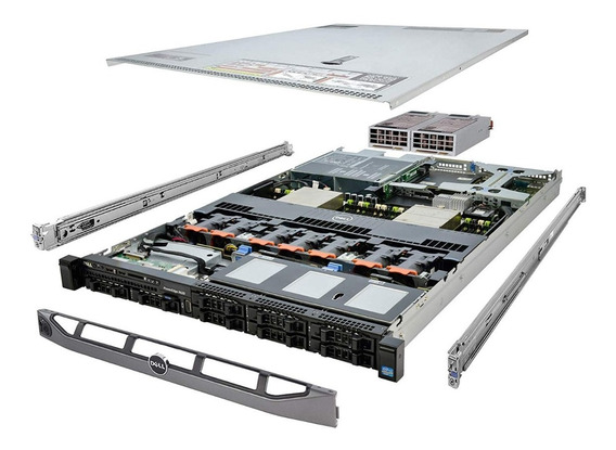 Servidor Dell Poweredge R620 - Impecável - Como Novo