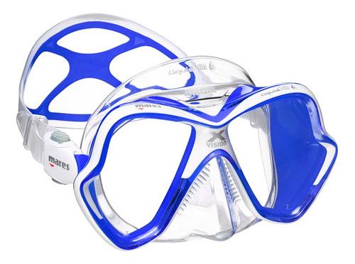 Máscara De Mergulho Mares X-vision Ultra Liquidskin