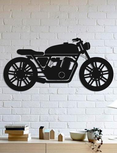 Quadro Decorativo Parede Veículos Moto 02 90cm