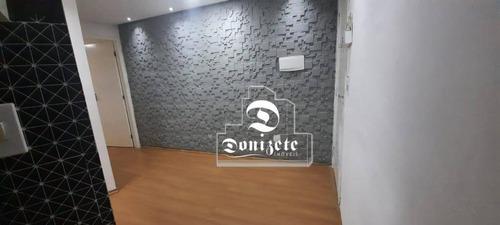 Cobertura Com 1 Dormitório À Venda, 68 M² Por R$ 265.000,00 - Vila Humaitá - Santo André/sp - Co11934