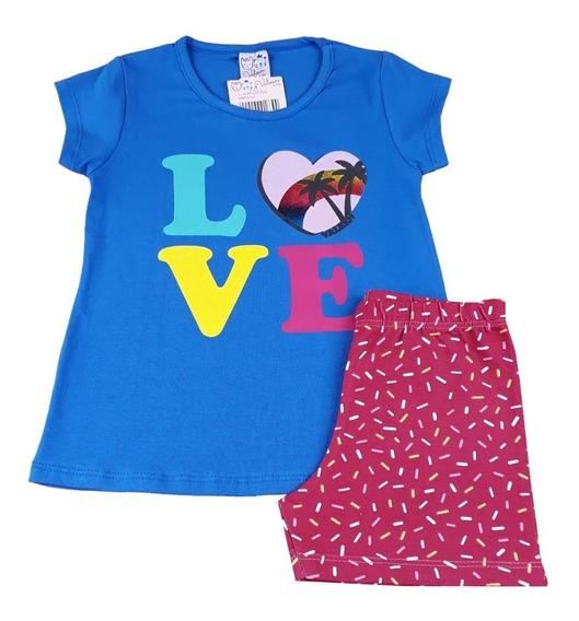 Moda Bebe Kit 10 Conjuntos Infantis Roupas Meninas Atacado