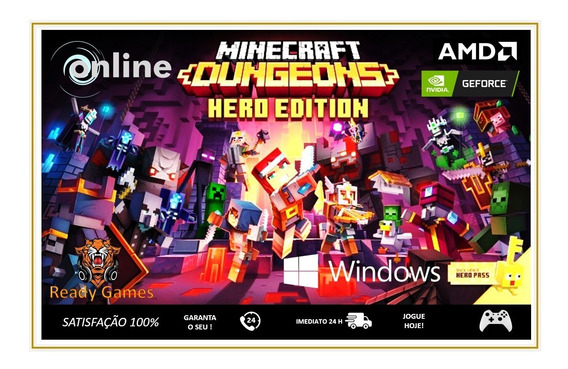 Minecraft Dungeons - Hero Pc