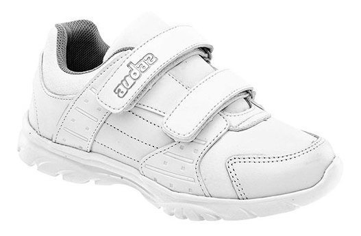 Audaz Sneaker Escolar Sintético Hombre Blanco C50698 Udt