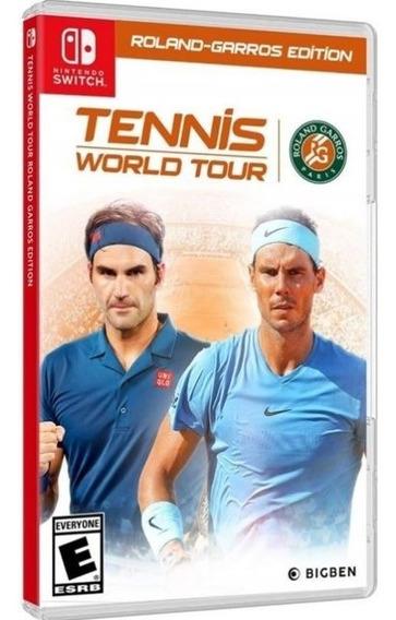 Tennis World Tour Roland Garros Edition Switch Mídia Física