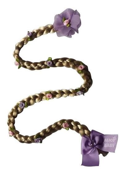 Trança Rapunzel Cabelo Loiro - Aplique
