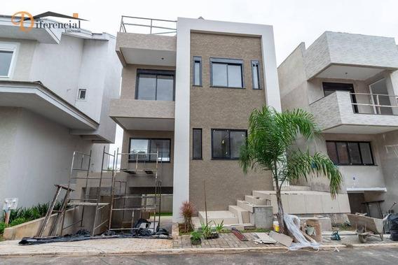 Casa Com 5 Dormitórios, 343 M² - Venda Por R$ 977.800,00 Ou Aluguel Por R$ 5.000,00/mês - Campo Comprido - Curitiba/pr - Ca0112