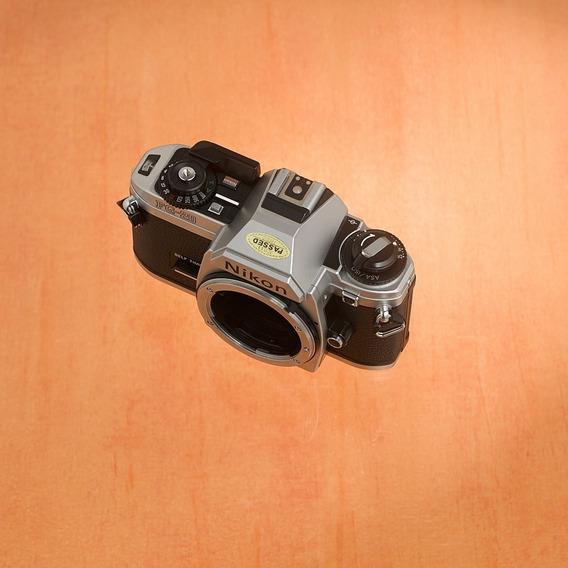 Nikon Fg20 Clássica Analógica! Filme Iso400 De Binde!