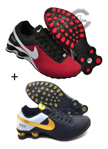 Tênis Nike Sxhox Classic 4 Molas Novo Promoção Kit 2 Pares