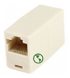 Copla Rj45 Adaptador Hembra Hembra Extension Cables Red