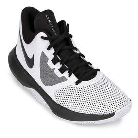 Tênis Nike Air Precision Ii Masculino - Branco E Preto