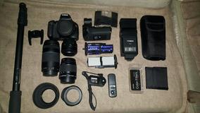 Câmera Canon T2i C/ Acessórios E Mochila National Geographic