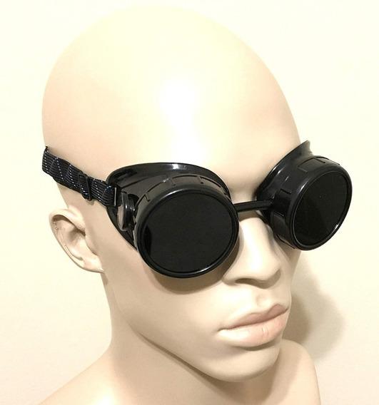 Gafas Cyberpunk Goggle Goticas Cosplay Negras Lf85