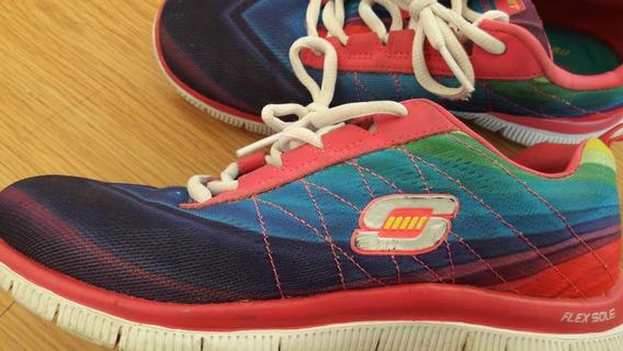 Rebajadas!!!zapatillas Skechers Us 36.5