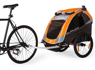 Burley Trailer D´lite De Bicicleta Hasta Dos Chicos Envios