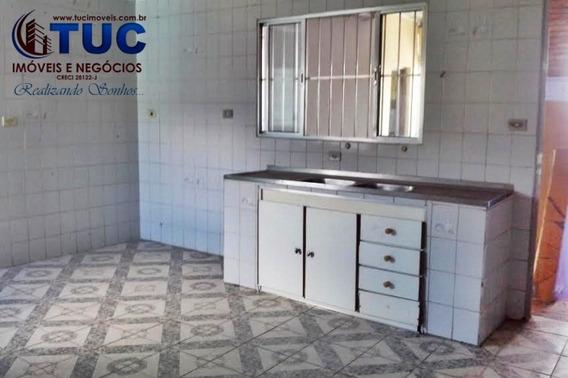 Casa De 02 Cômodos C/churrasqueira C/ Água - Jd Laura S.b.c - 1103