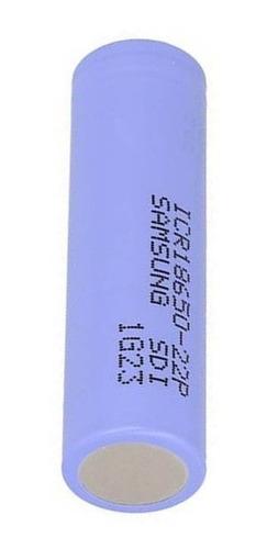 Batería Pila Recargable Litio 18650 Samsung Icr18650 22p M