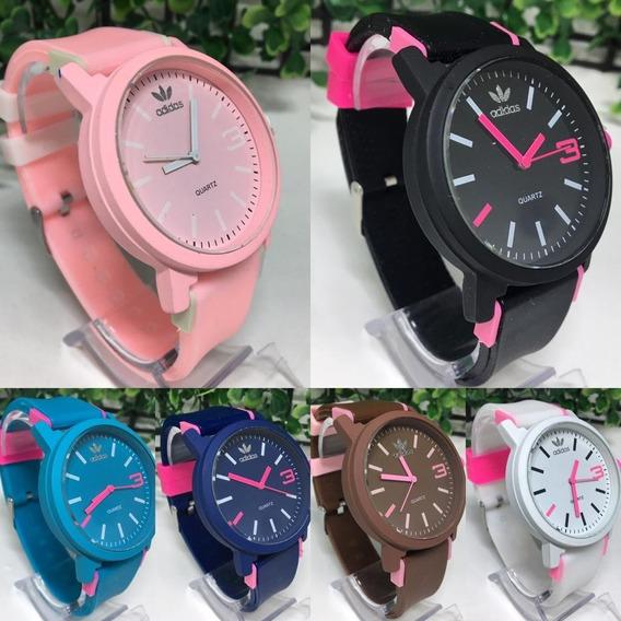 Kit 10 Relógio Feminino adidas Colors+brinde Revenda