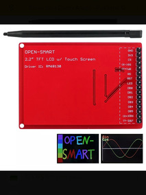 Display Lcd Arduino Uno 2,2 + Caneta