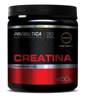 Creatina Creapure Pura 400g - Probiotica