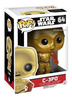 Funko Pop C-3po Star Wars 64 Orig C3po Citripio Scarlet Kids