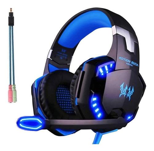 Audifonos Diadema Gamer Kotion G2000 Con Microfono