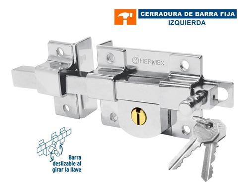 Imagen 1 de 4 de Cerradura De Barra Fija, Izquierda Hermex 43507
