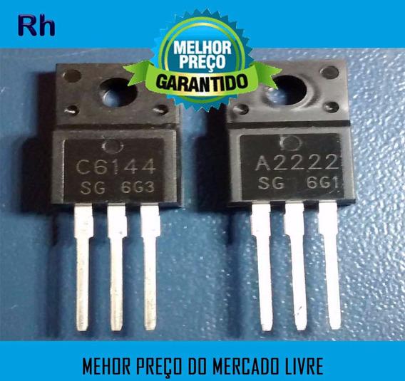 Kit 10 Pares Transistor Epson A2222 C6144 Original