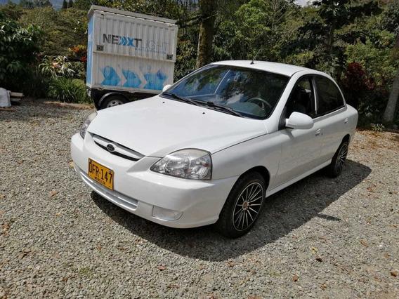 Kia Rio Stylus 2012 Blanco 1500 Cc