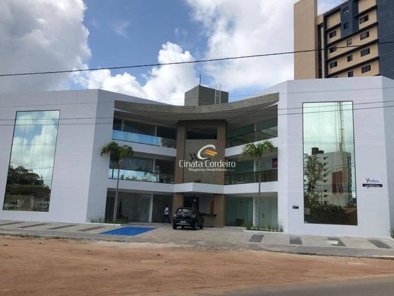 Sala Para Alugar, 21 M² Por R$ 1.210,00/mês - Intermares - Cabedelo/pb - Sa0031
