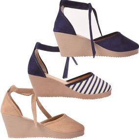 Sapato Scarpin Kit 05 Feminina Anabela Atacado 155j