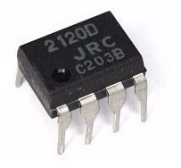 2120d Dip-8   2120   Jrc2120d - Novo Original