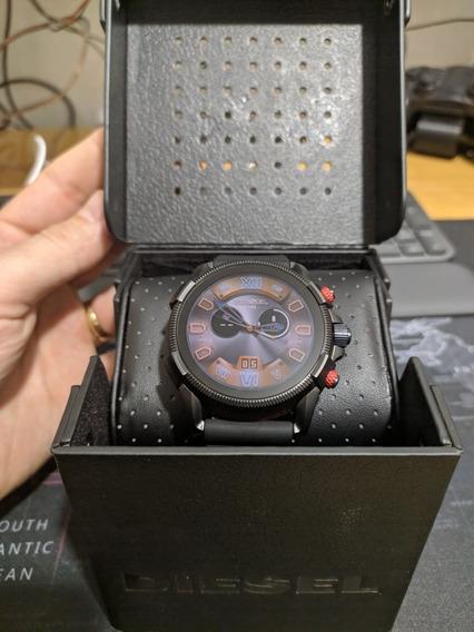 Relógio Diesel Full Guard 2.5 Black Silicone P.entrega