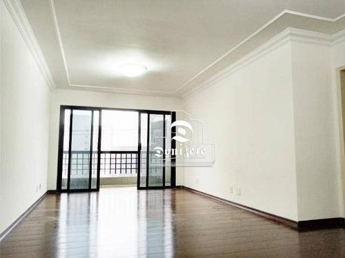 Apartamento Com 3 Dormitórios À Venda, 126 M² Por R$ 640.000,00 - Vila Bastos - Santo André/sp - Ap16171