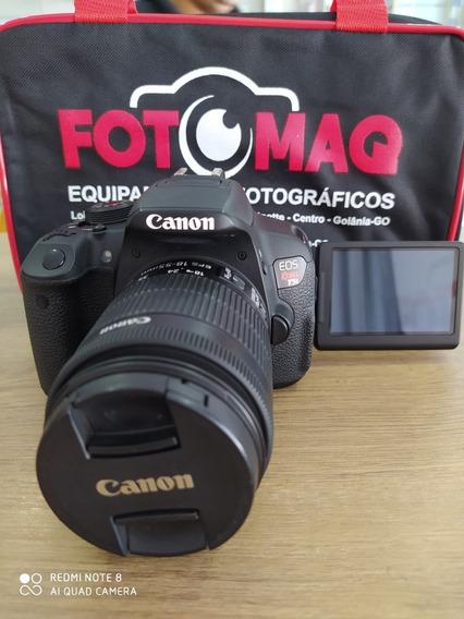 Câmera Fotográfica Canon T5i Kit 18-55mm