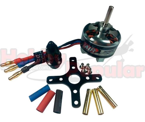 Motor Turnigy 3010b 420w 1300kv - Empuxo De 1650g - Completo