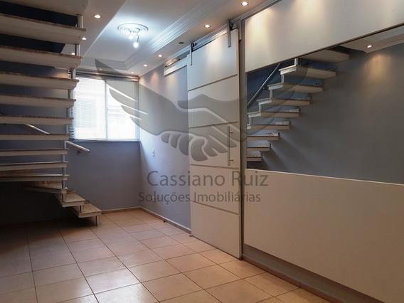 Cobertura Duplex - Spazio Saragoza - 03 Dorm Com Armários E Ar Condicionado - Espaço Gourmet Com Churrasqueira - Acabamento Impecável - Ap00235 - 34190369