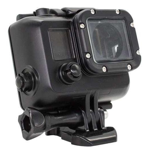 Caixa Capa Case Protetora Gopro Hero 3 3+ 4 Camera Preta