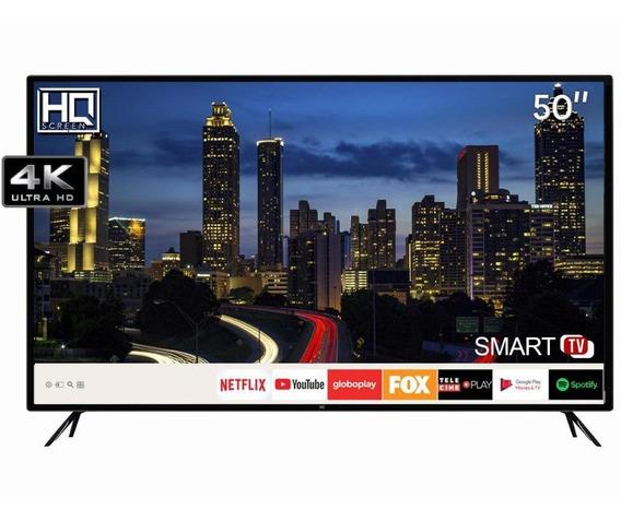 Smart Tv Led 50 Hq Ultra Hd 4k Netflix