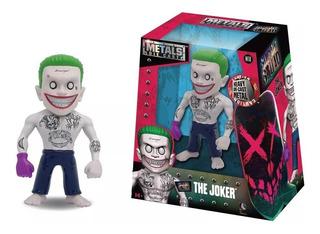 Figura Joker Escuadron Suicida Metal 10cm Jada Regalosleon