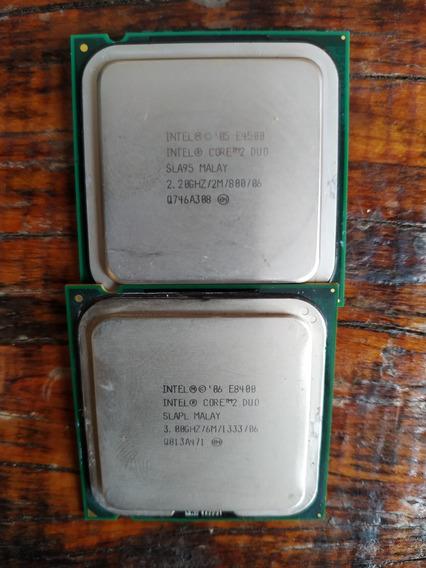 Lote 2 Processadores Core 2 Duo E8400 3.0ghz / E4500 2.20ghz